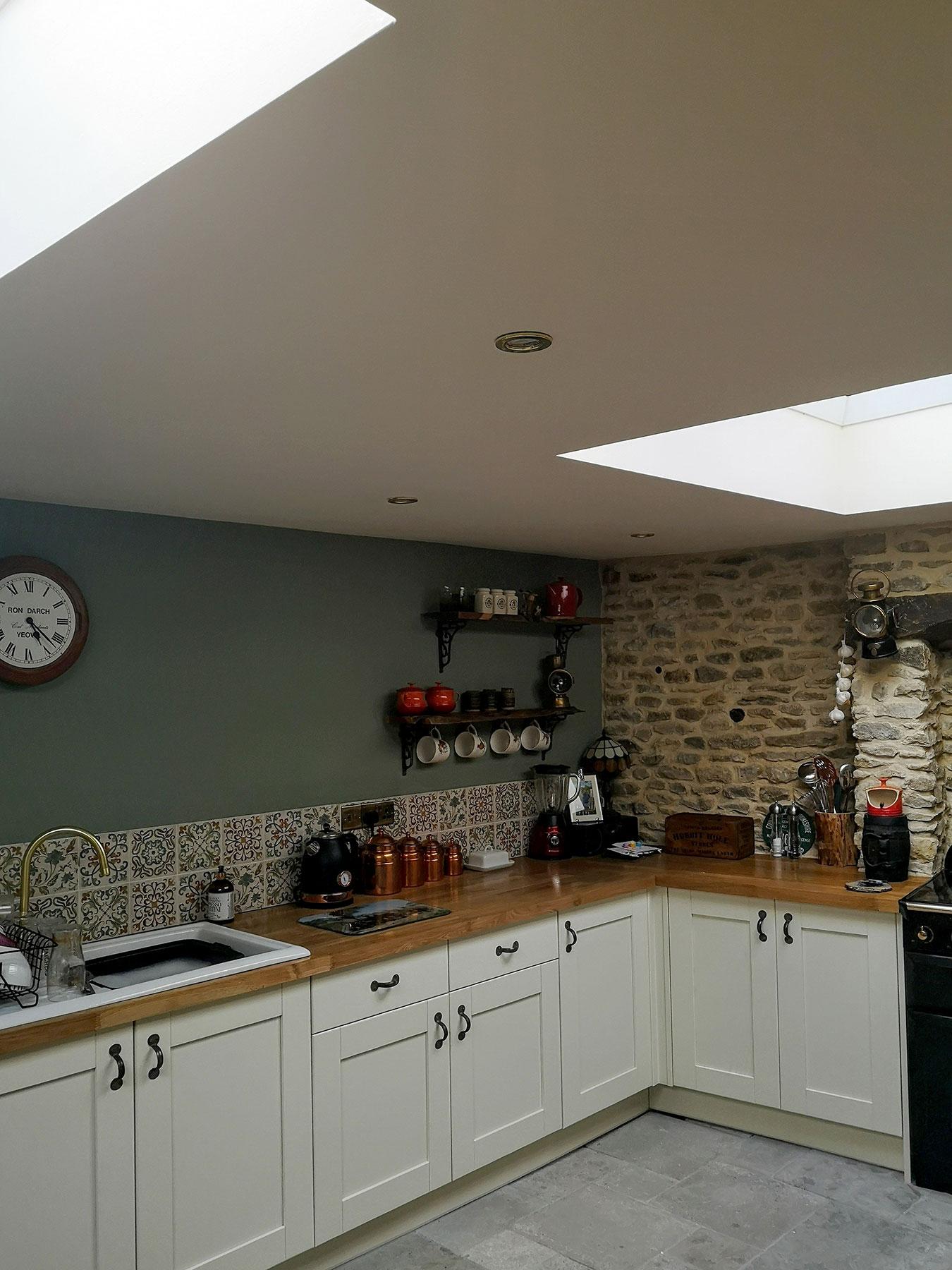 Helena Clarke – Painter Decorator, colour consultant – kitchen