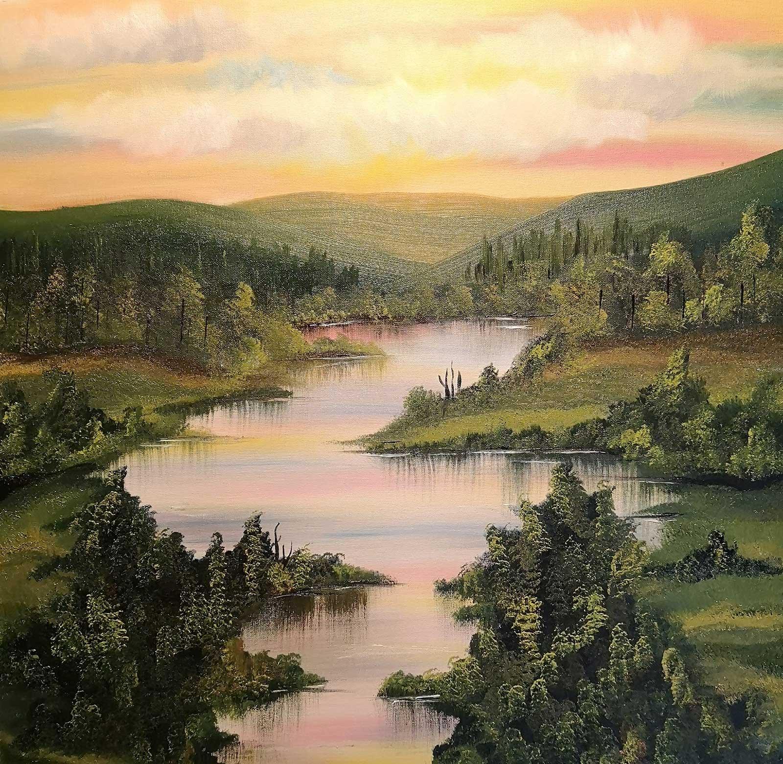 Helena Clarke – Painter Decorator – Landscape oil painting